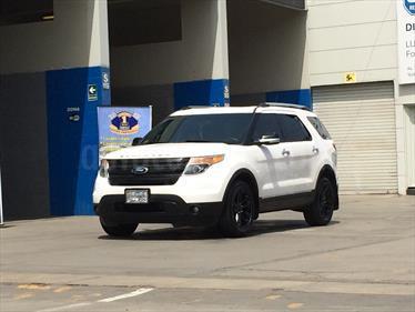Ford Explorer XLT 3.5L 4X4 usado (2013) color Blanco precio u$s27,000