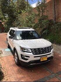 Foto venta Carro Usado Ford Explorer XLT 4x2 (2016) color Blanco precio $89.000.000