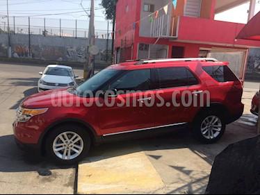 Foto venta Auto usado Ford Explorer XLT Base V6 (2011) color Rojo Cerezo precio $230,000