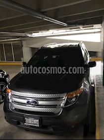 Foto venta Auto Seminuevo Ford Explorer XLT Piel (2015) color Gris Nocturno precio $360,000