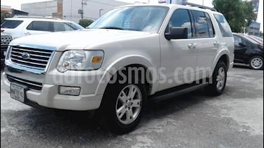 Foto venta Auto Seminuevo Ford Explorer XLT Tela (2010) color Blanco Sueco precio $150,000