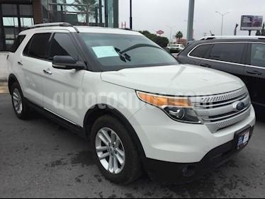 Foto venta Auto Seminuevo Ford Explorer XLT Tela (2012) color Blanco precio $245,000