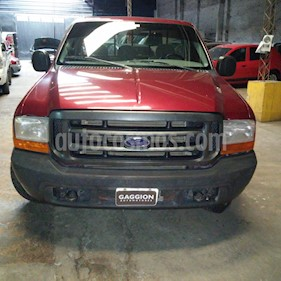 Foto venta Auto Usado Ford F-100 3.9L DSL 4x2 XL Cummins (2000) color Bordo