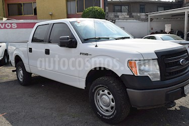 Foto venta Auto Seminuevo Ford F-150 XL 4x2 5.0L Doble Cabina (2014) color Blanco Oxford precio $278,001