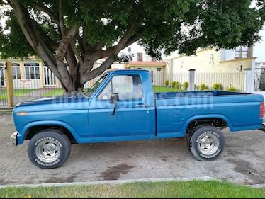 Foto venta Auto usado Ford F-200 V8 Pick-up Ranger (1986) color Azul Metalizado precio $75,000