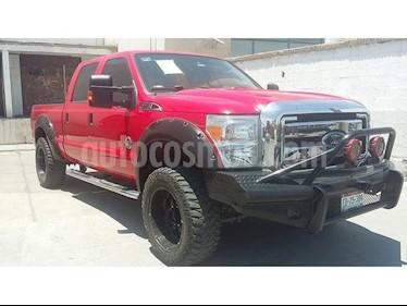 Foto venta Auto usado Ford F-250 SUPER DUTY CREW CAB DIESEL 4X4 (2016) color Rojo precio $665,000