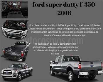Foto venta carro usado Ford F-350 6.2L 4x4 (2016) color Gris Antracita precio BoF480.000.000