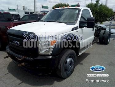 Foto venta Auto Seminuevo Ford F-450 6.7 KTP DIESEL AT (2015) color Blanco precio $430,000