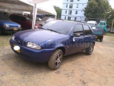 Ford Fiesta LX 5 Ptas. usado (1997) color Azul precio $7.500.000
