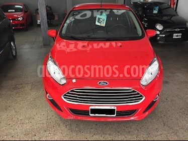 Foto Ford Fiesta Kinetic Sedan SE Plus  usado (2015) color Rojo precio $490.000