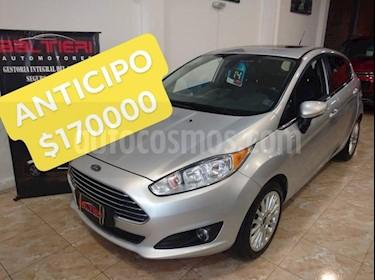 Foto venta Auto Usado Ford Fiesta Kinetic Sedan Titanium (2014) color Gris Claro precio $170.000