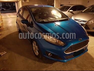 Foto venta Auto Usado Ford Fiesta Kinetic S Plus (2014) color Azul Mediterraneo precio $269.000