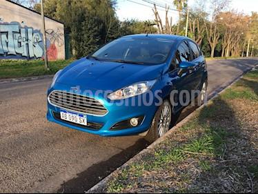 Foto venta Auto Usado Ford Fiesta Kinetic SE  (2017) color Azul Mediterraneo precio $340.000