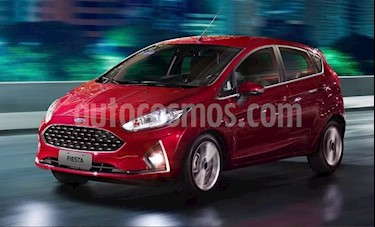 Foto venta Auto Usado Ford Fiesta Kinetic SE (2018) color Rojo Rubi precio $410.000