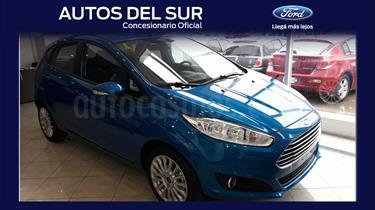 Foto venta Auto nuevo Ford Fiesta Kinetic Titanium Powershift color Azul Mediterraneo precio $472.972