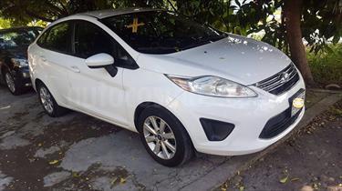 Foto venta Auto Seminuevo Ford Fiesta Sedan SE Aut (2012) color Blanco Oxford precio $110,000