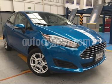 Foto venta Auto Seminuevo Ford Fiesta Sedan SE Aut (2014) color Azul precio $155,000