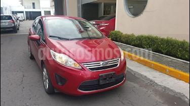 Foto venta Auto Seminuevo Ford Fiesta Sedan SE Aut (2011) color Rojo precio $110,000