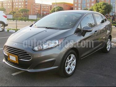 Ford Fiesta Sedan SE Sportback  usado (2014) color Gris Nocturno precio $33.900.000