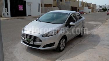 Foto venta Auto usado Ford Fiesta Sedan SE (2014) color Gris precio $129,000