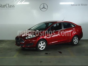 Foto venta Auto Seminuevo Ford Fiesta Sedan SE (2016) color Rojo precio $185,000