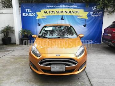 Foto venta Auto Seminuevo Ford Fiesta Sedan SE (2016) color Naranja Electrico precio $175,000