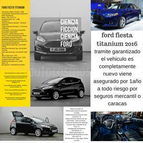 Ford Fiesta Sedan Titanium Aut usado (2016) color Negro precio BoF330.000.000