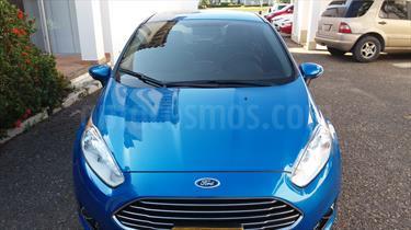 Foto venta Carro Usado Ford Fiesta Sedan Titanium Aut (2015) color Azul precio $33.000.000