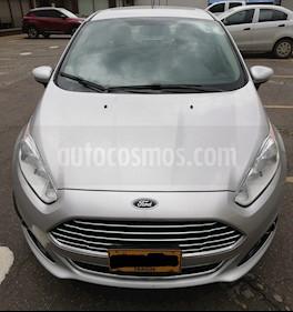Ford Fiesta Sedan Titanium Aut usado (2016) color Plata Puro precio $40.000.000
