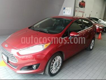 Foto venta Auto Usado Ford Fiesta Sedan Titanium Aut (2016) color Rojo precio $219,000