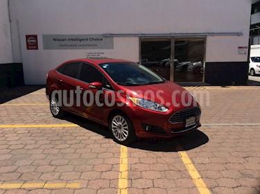 Foto venta Auto Seminuevo Ford Fiesta Sedan Titanium Aut (2016) color Rojo Rubi precio $220,000