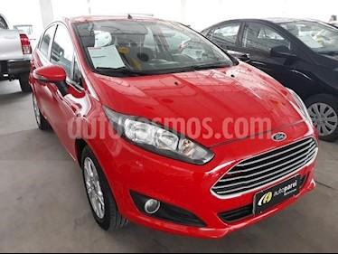 Foto venta carro Usado Ford Fiesta Sedan Titanium Aut (2018) color Negro Onix precio BoF3.800.000