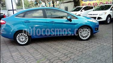 Foto venta Auto Seminuevo Ford Fiesta Sedan Titanium (2015) color Azul precio $188,000