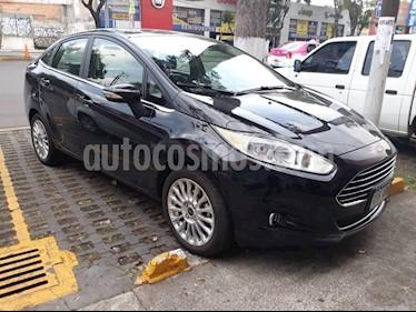 Foto venta Auto Seminuevo Ford Fiesta Sedan Titanium (2016) color Negro Profundo precio $209,000