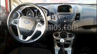 Ford Fiesta 1.6L SE usado (2014) color Rojo Rubi precio $7.500.000