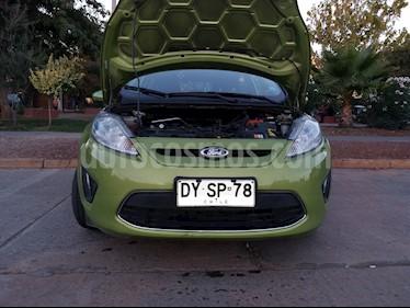 Ford Fiesta 1.6L SE usado (2012) color Verde precio $4.800.000