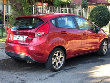 Ford Fiesta 1.6L Titanium usado (2012) color Rojo precio $5.800.000
