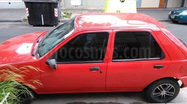 Foto venta Auto Usado Ford Fiesta  5P CLX 1.8 DSL (1998) color Rojo precio $60.000