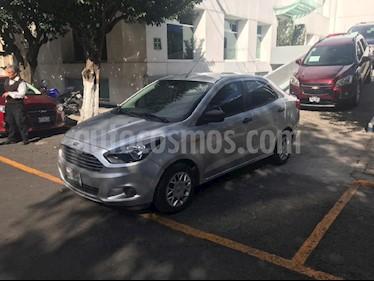 Foto venta Auto Seminuevo Ford Figo Hatchback Impulse Aut A/A (2017) color Plata precio $164,900