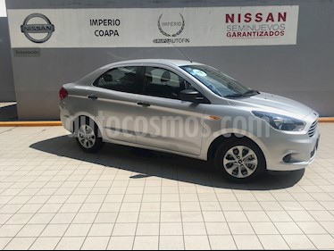 Foto venta Auto Seminuevo Ford Figo Sedan Energy Aut (2017) color Plata Estelar precio $175,000