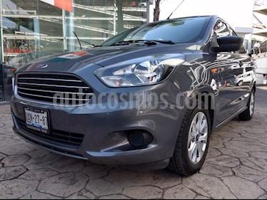 Foto venta Auto Seminuevo Ford Figo Sedan Energy Aut (2016) color Gris precio $165,000