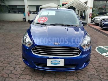 Foto venta Auto Seminuevo Ford Figo Sedan Impulse A/A (2017) color Azul precio $153,000