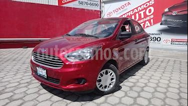 Foto venta Auto Seminuevo Ford Figo Sedan Impulse A/A (2018) color Rojo Carmesin precio $170,000