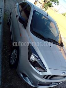 Foto venta Auto Seminuevo Ford Figo Sedan Impulse A/A (2018) color Plata precio $187,000