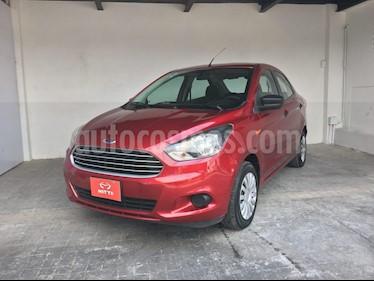 Foto venta Auto Seminuevo Ford Figo Sedan Impulse  (2016) color Rojo Rubi precio $132,000