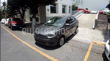 Foto venta Auto Usado Ford Figo Sedan Titanium (2018) color Gris precio $209,900