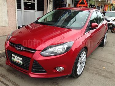 Foto venta Auto usado Ford Focus Hatchback Trend Sport Aut (2014) color Rojo Granate precio $169,000