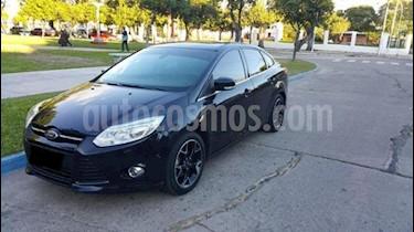 Foto venta Auto usado Ford Focus One 4P 1.6 Ambiente (2014) color Azul precio $400.000