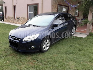 Ford Focus Sedan 2.0L SE Plus Aut usado (2014) color Azul Monaco precio $650.000