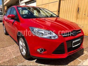 Foto venta Auto Usado Ford Focus Sedan 2.0L SE (2014) color Rojo Bari precio $369.000